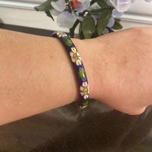 Antique cloisonné bracelet